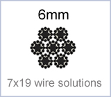 6mm 7x19 wire solutions
