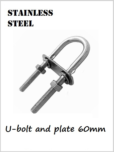 Stainless Steel U-bolt and Plate